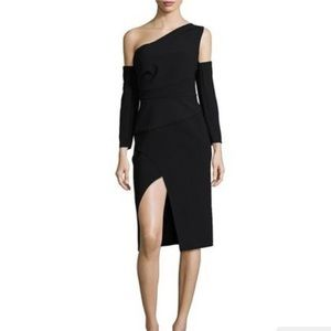Finders Oblivion L/S One-Shoulder Bodycon Dress